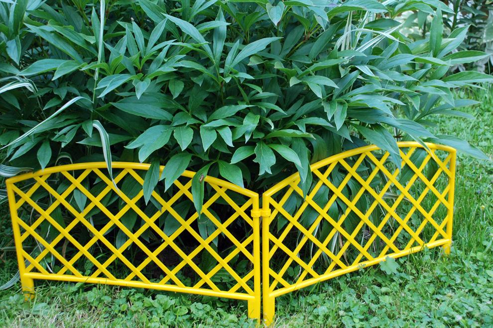 забор декоративный 6 плетенка терракот